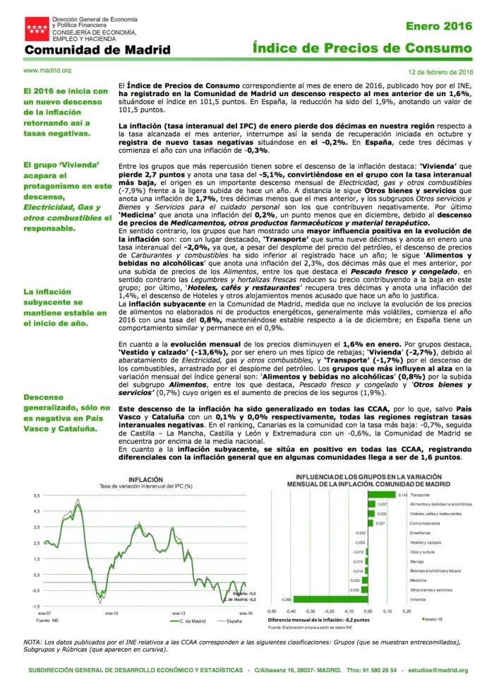 IPC 2Enero 2016 Comunidad de Madrid_nota