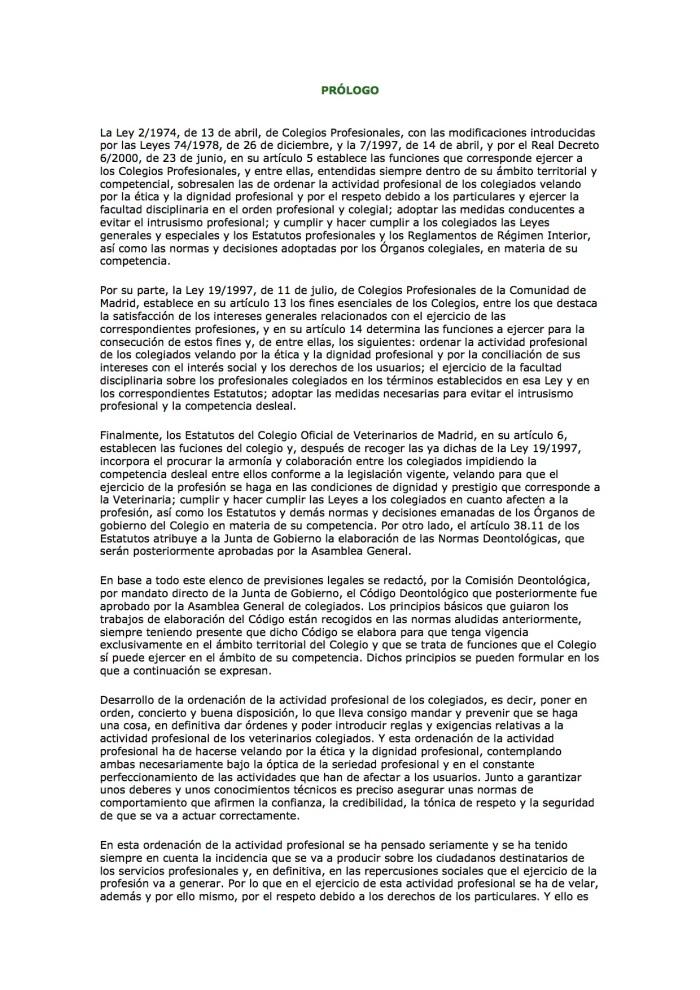 Codigodeontologico madrid1