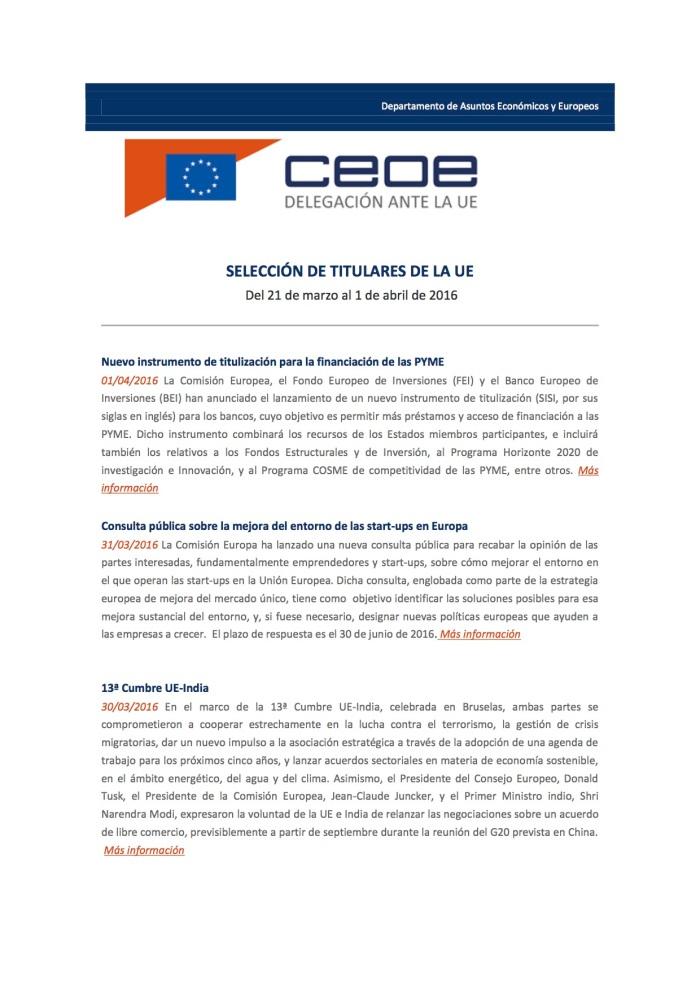 Boletin_CEOE Bruselas (del 21 de marzo al 1 de abril de 2016)