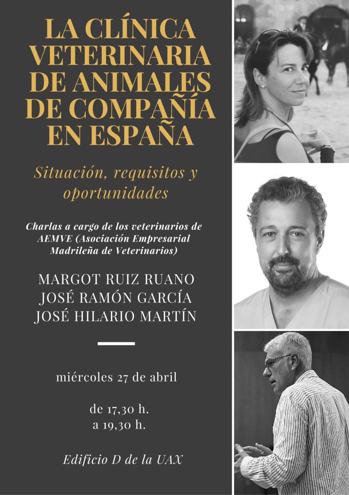 LA CLÍNICA VETERINARIA DE ANIMALES DE COMPAÑÍA EN ESPAÑA