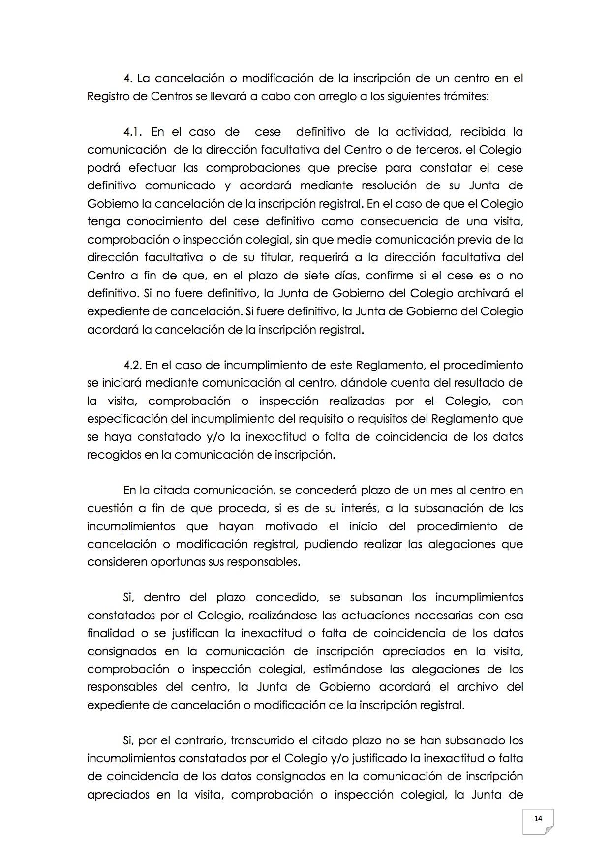 2015_07_11 15REGLAMENTO PARA EL EJERCICIO PROFESIONAL EN CLÍNICA DE ANIMALES DE COMPAÑÍA
