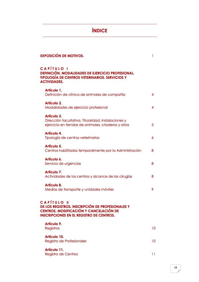 2015_07_11 19REGLAMENTO PARA EL EJERCICIO PROFESIONAL EN CLÍNICA DE ANIMALES DE COMPAÑÍA