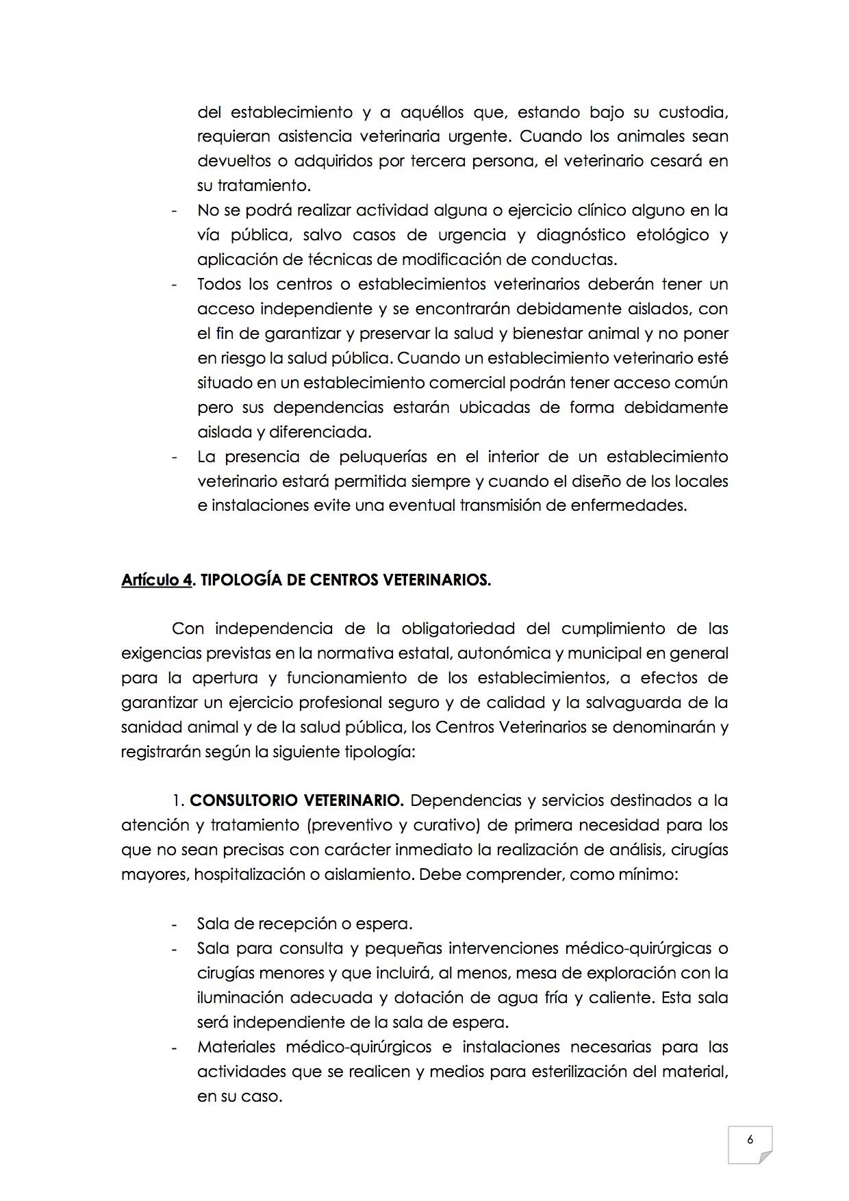 2015_07_11 7REGLAMENTO PARA EL EJERCICIO PROFESIONAL EN CLÍNICA DE ANIMALES DE COMPAÑÍA