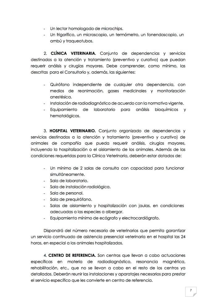 2015_07_11 8REGLAMENTO PARA EL EJERCICIO PROFESIONAL EN CLÍNICA DE ANIMALES DE COMPAÑÍA