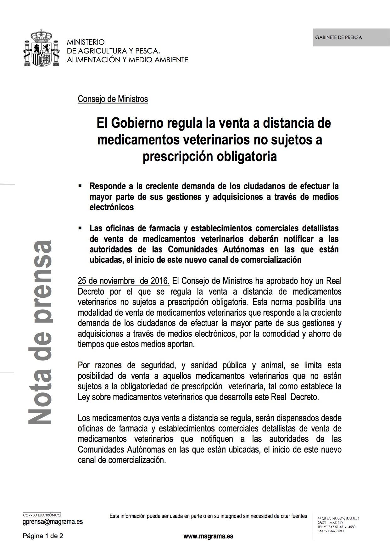 cmventamedicamentosveterinarios1_tcm7-439672_noticia