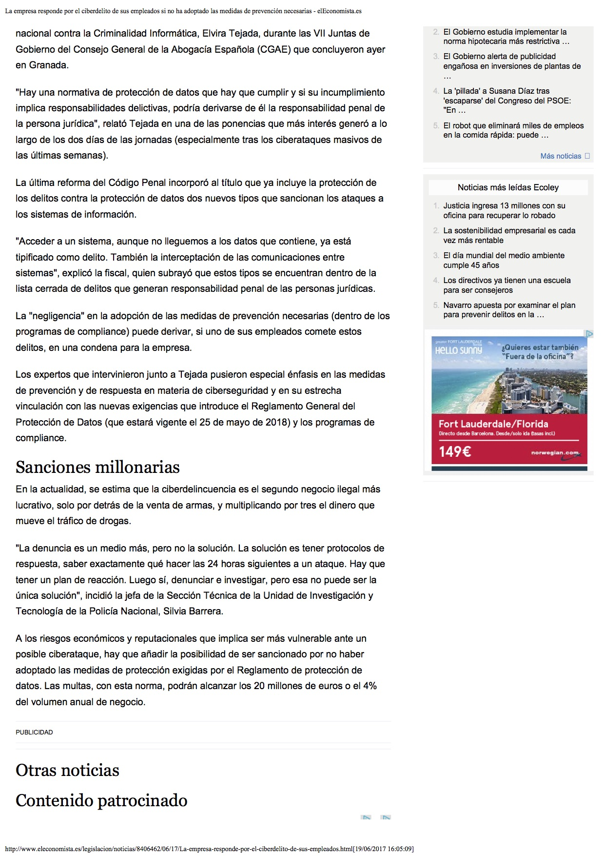 La empresa 2 responde por el ciberdelito de sus empleados si no ha adoptado las medidas de prevención necesarias - elEconomista.es-2_1339
